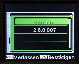 Erst ab dieser Firmware-Version ist die Waid-Life Optimus Black zu gebrauchen! - Bild: Wildkamera-Test.com