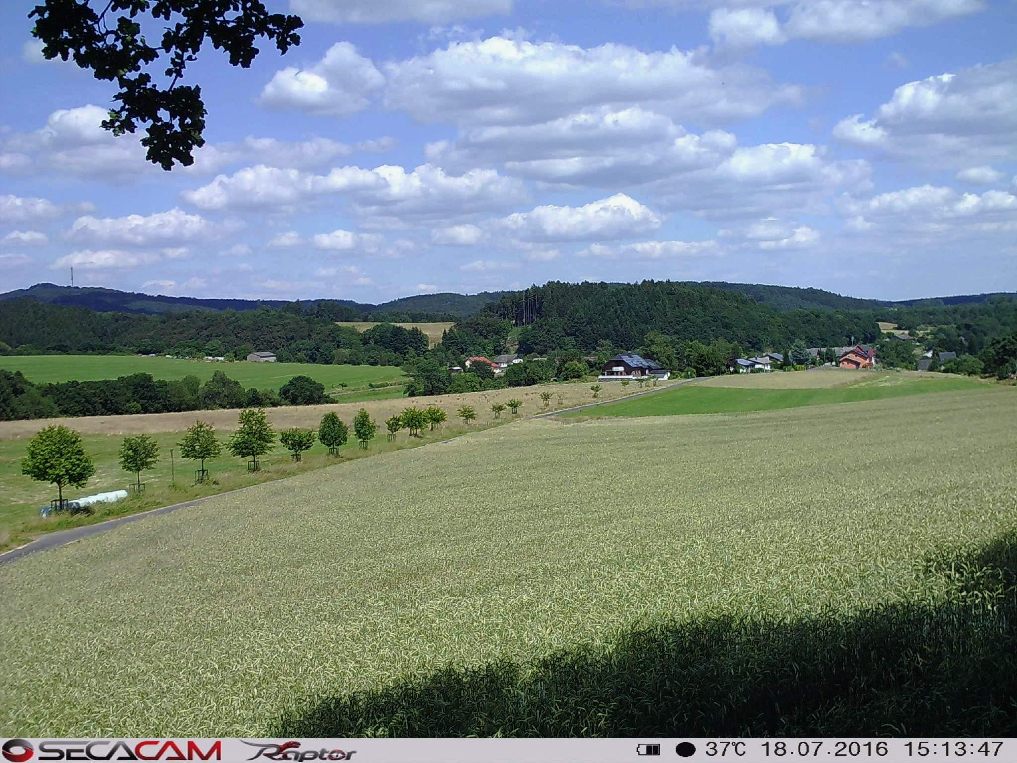 Ganz neue Möglichkeiten! Die SecaCams kann man bedenkenlos mehrerere Monate an einer landschaftlich schönen Stelle aufhängen und mit Hilfe der Zeitraffer-Funktion einen kleinen Film erstellen - Bild: Wildkamera-Test.com